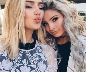 beauty, makeup, and friends image