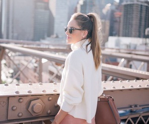 cozy, fashion, and new york image
