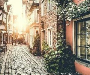 street, city, and travel image