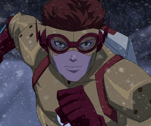 coldhearted, wally west, and kid flash image