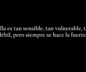 frases, strong, and vulnerable image