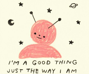 quotes, alien, and drawing image