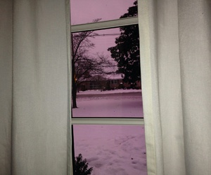 pink, window, and grunge image