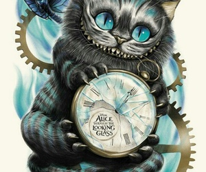 disney, alice in wonderland, and cat image