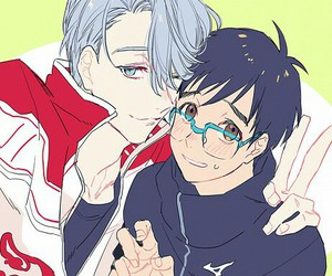 yuri on ice, anime, and yuri image