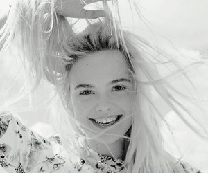 Elle Fanning, blonde, and Elle image