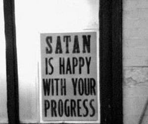 satan, well done, and progressing image