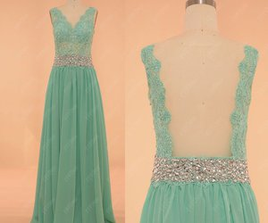 evening dresses, lace, and pageant image