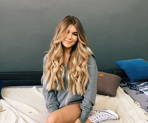 blonde, grey, and hair image