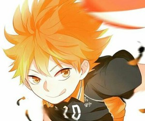 anime, volleyball, and boy image