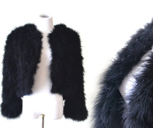 Couture, etsy, and fur image