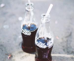coke, drink, and coca cola image