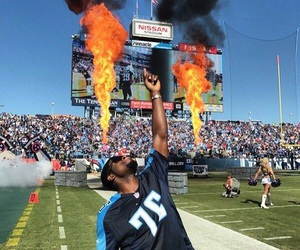 fire, player, and football image