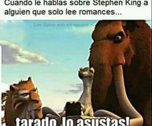 divertido, funny, and Stephen King image