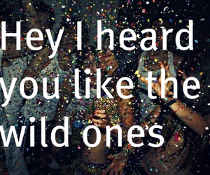 party, wild, and quote image