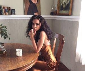 beauty, dress, and model image