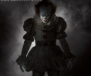 clown, creepy, and Halloween image