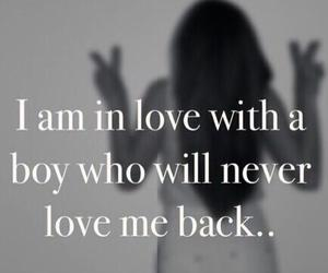 love, boy, and never image