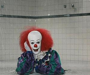 it, clown, and pennywise image