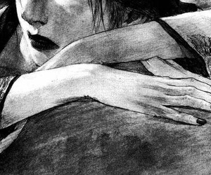 aesthetic, tumblr, and manga+girl image