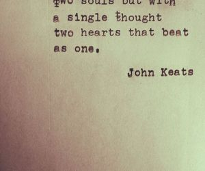 john keats and love image