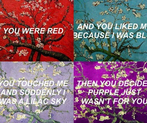 colors, quotes, and halsey image