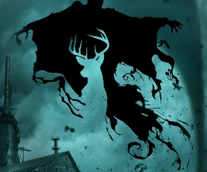 harry potter, wallpaper, and dementor image