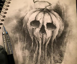 art, draw, and ghost image