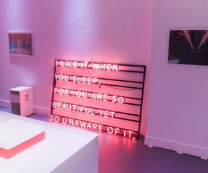 pink, neon, and the 1975 image