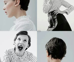 actress, strangers things, and millie bobbie brown image