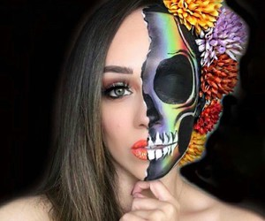 Halloween, catrina, and makeup image
