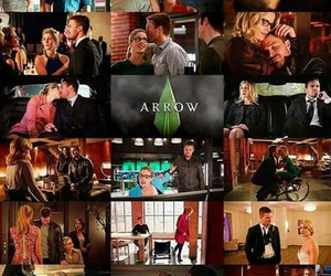 arrow, Black Canary, and barry allen image