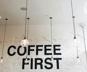 cafe, coffee, and decor image
