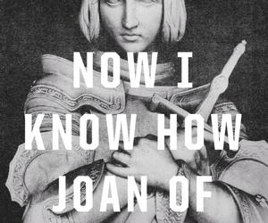 art print, joan of arc, and gift image