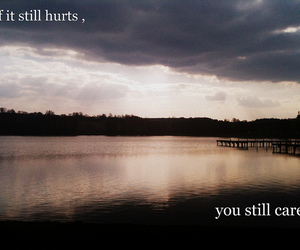 it hurts, photography, and love image