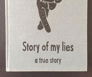 hide, lie, and story image