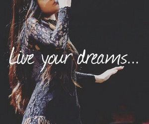 dreams, live your life, and singer image