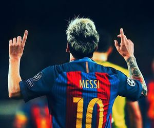 messi, fcbarcelona, and fcb image