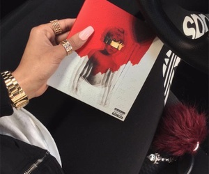 rihanna, anti, and red image