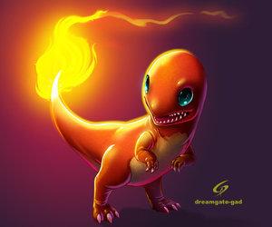 pokemon, charmander, and starter image