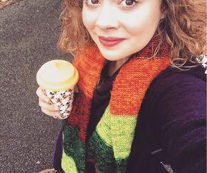 actress, autumn, and musical image