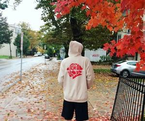 band, fall, and hoddie image
