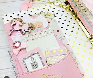 diy, pink, and notebook image