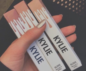 kylie, kylie jenner, and makeup image