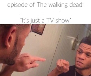 the walking dead, series, and twd image