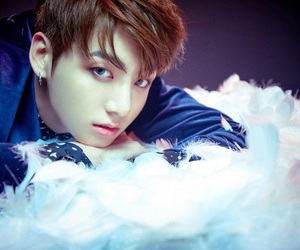blood, blood sweat and tears, and golden maknae image