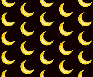 background, moon, and pattern image