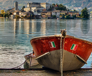 photography, orta, and san giulio italy image
