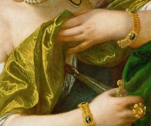 art, detail, and dress image