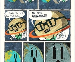 earth, funny, and humans image